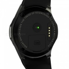 "DOMINO DM368 1.39"" AMOLED MTK6580 Quad-core 1.3GHz Smart Watch - Black"