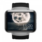 DOMINO DM98 Metal Dual-Core Android 4.4 Smart Phone Watch - Silver