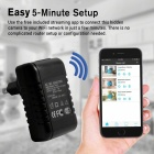 AC Plug Wall Charger Adapter w/ Built-in Wi-Fi Camera