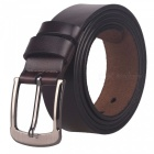 Fanshimite ZK05 Men's Buckle Leather Belt - Brown (120cm)