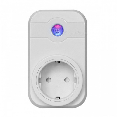 2000W Smart Wi-Fi Socket - White (EU Plug)
