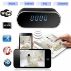 Mini Hidden Electronic Clock DVR H.264 Full HD 1080p Infrared Recorder