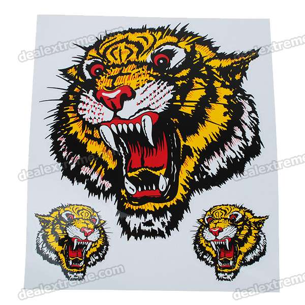 Animal Figure Car Sticker (Color/Style Assorted)