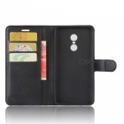 Flip-up PU Leather Wallet Cases w/ Card Slots for Redmi Note4X - Black