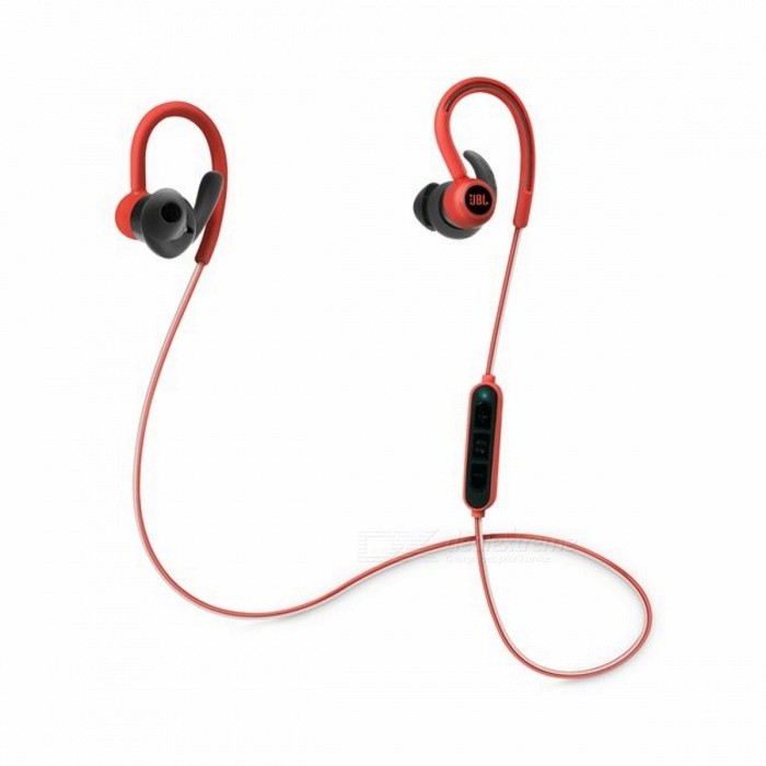 JBL Reflect Contour Bluetooth Wireless Sports Headphones - Red
