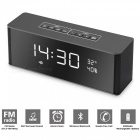 Portable LED Display Bluetooth 3.0 Speaker w/ Alarm Clock / FM Radio