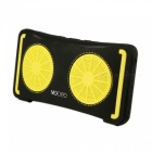 MOCREO Portable Waterproof Bluetooth Speaker - Black + Yellow