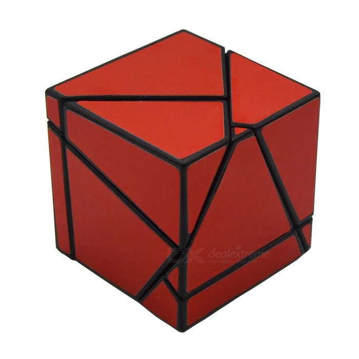 Strange-shape 2 x 2 x 2 Ghost Cube Toys - Red