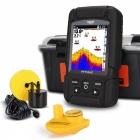 "LUCKY FF718LiC 2.8 ""LCD Fish Finder Monitor Sonar Transducer - Musta"