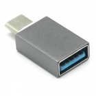 Mini Smile Type-C Male to USB 3.0 Female OTG Adapter for Galaxy S8