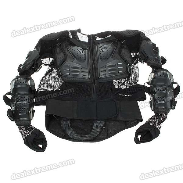 Motorcycle Body Protection Riding Armor Suit (L/180cm)