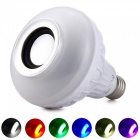 YK0060 Mini Smart Audio Speaker RGB Music LED Light Bulb for Disco, Birthday Party, Club, Bar, Stage