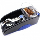 High Power Automatic Machine Electric Cigarette Reeler - Black + Blue