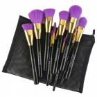 MAKE- UP FOR YOU 15-Piece Cosmetic Makeup Brush Set