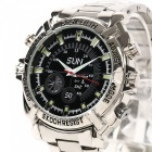 8GB HD 1080P Waterproof Watch Mini caméra vidéo infrarouge