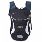 LOCAL LION 526 Outdoor Sports Cycling Bike Backpack - Black + White