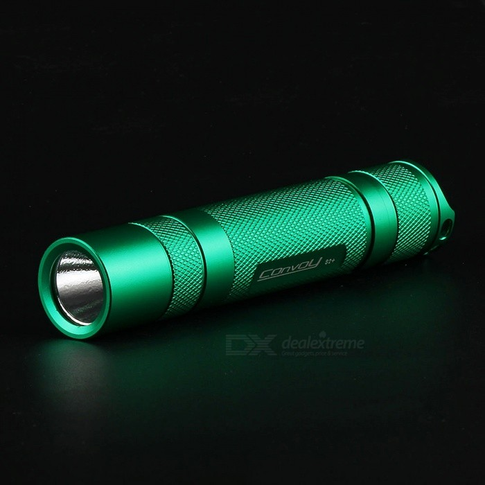 Convoy S2+ 960lm XM-L2 U2 3 / 5 Modes LED Flashlight Torch - Green
