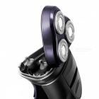 FLYCO FS372 3D Floating Shaver Rechargeable Electric Razor - Purple