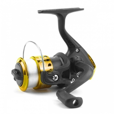 DAO DE LAI DK200 High Speed G-Ratio 5.2:1 ABS Fishing Reel - Golden