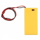 Hengjiaan  2 * AA Batteries Holder Case Box - Yellow