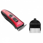 FLYCO FC5807 Professional Electric Dry Clean Hair Clipper -Black + Red