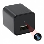1080P HD Mini USB Wall Charger Camera w/ 32GB Memory (EU Plug)