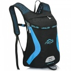 LOCAL LION 526 Outdoor Sports Pyöräily reppu - Musta + sininen (15L)