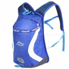 LOCAL LION 526 Outdoor Sports Cycling Backpack - Blue + White (15L)
