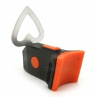 Super Bright Rechargeable 4-Mode Heart-shaped Bicycle Taillight
