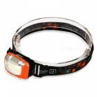 UltraFire COB LED Cold White 3-Mode Headlight - Orange