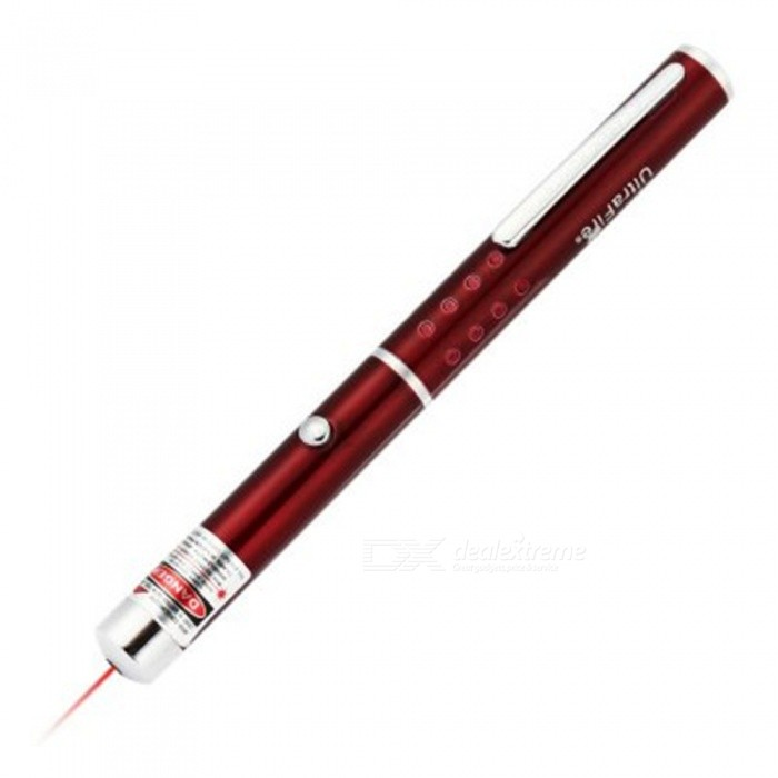 UltraFire 650nm 5mW Red Laser Pointer Pen - Red