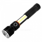 UltraFire CB02 T6 XM-L 3-Mode Rechargeable LED Flashlight - Black