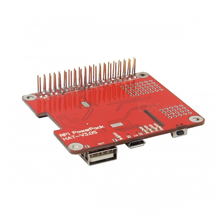 DIY Power Pack Lithium Battery Expansion Board Kit for Raspberry PI