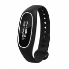 DMDG IP68 Blood Pressure Smart Band w/ Heart Rate Monitor -Black+White