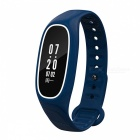 DMDG IP68 Blood Pressure Smart Band w/ Heart Rate Monitor-Blue + White
