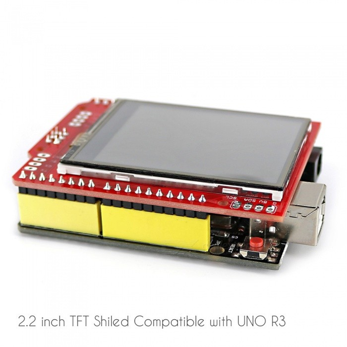 "OPEN-SMART 2.2"" TFT LCD Touch Screen Expansion Shield w/ Touch Pen [фото5]"