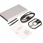 H8 Mini Portable Power Bank HD 1080P Wi-Fi Camera w/ TF Slot - Silver
