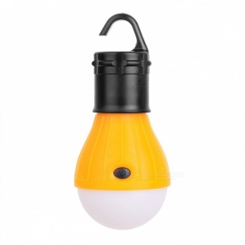 3-LED 3-Mode 600lm Cold White Tent Lamp w/ Hook for Camping - Red