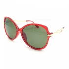 Lightweight, High Wear Resistance, Impact Resistance, Green Lens, Perfect for Women, Girls, Lady