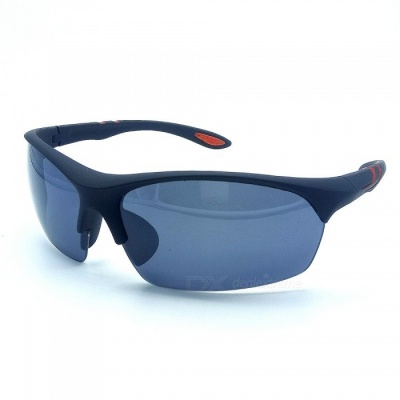Quality Outdoor Cycling Ultralight Traveler Sunglasses - Black + Grey