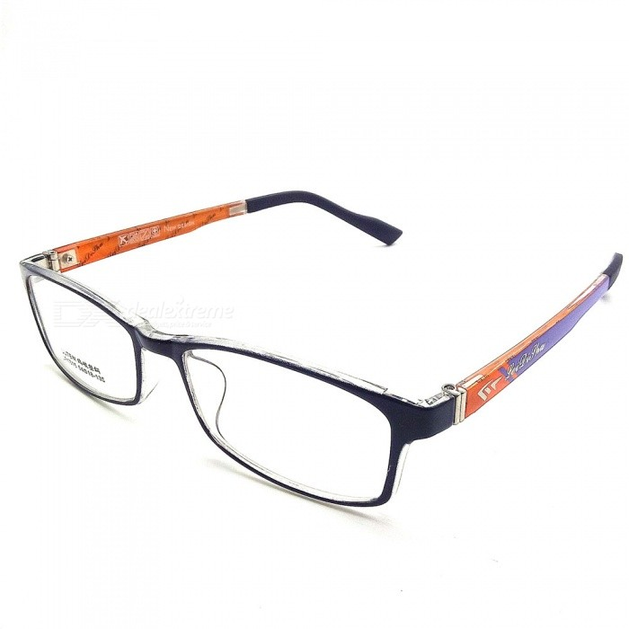 High Quality Transparent Myopia Glasses Frame - Black