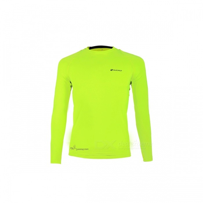 NUCKILY Riding Jacket for Spring Summer - Fluorescent Green (M)