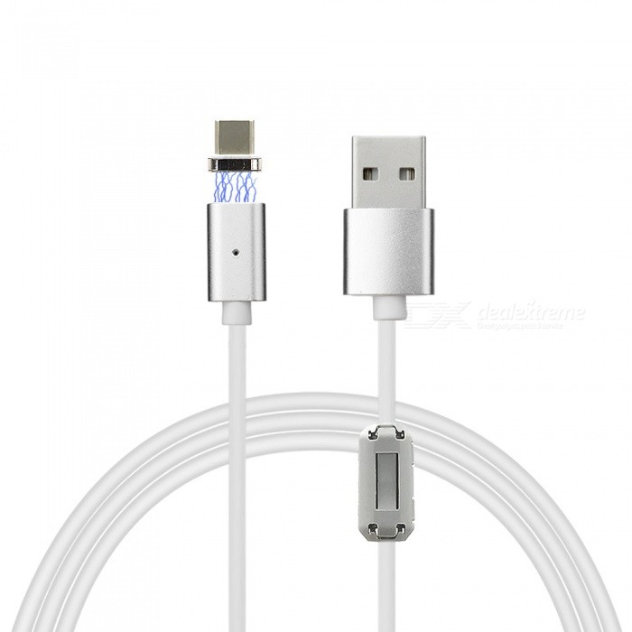 Cwxuan C-tyypin USB Irrotettava Magnetic Charging Data Cable (120cm)