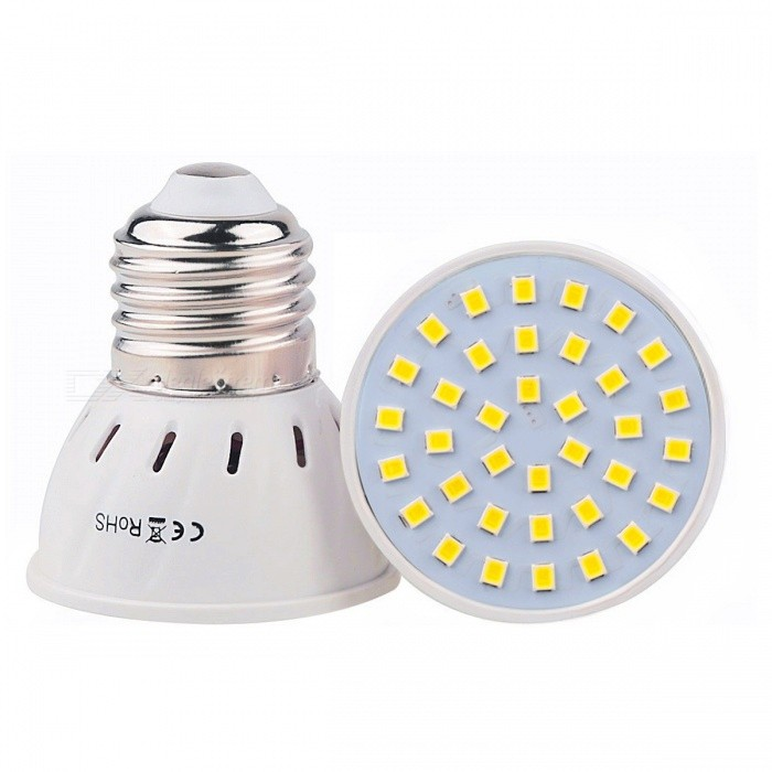 YWXLight E27 3W 36-2835SMD LED Natural White Light Spotlight for Home