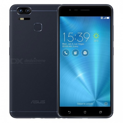 ASUS ZenFone 3 Zoom ZE553KL Dual SIM Phone 4GB + 64GB - Black (Global Version)