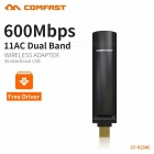 COMFAST CF-923AC 600Mbps Wireless Two-Way USB Blind Plug Network Card
