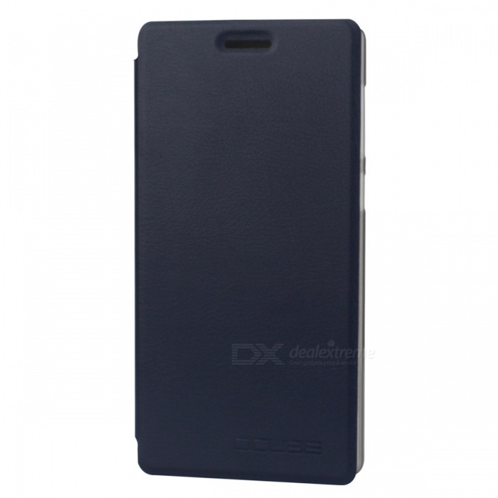 "OCUBE PU Leather Flip-open Case for Vernee Apollo 5.5"" - Dark Blue"