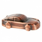 4GB Mini Metal Car USB 2.0 Flash Drive U Disk - Bronze + Red