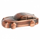 8GB Mini Metal Car USB 2.0 Flash Drive U Disk - Bronze + Red