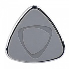 Triangular Shield Style Magnet Car Outlet Bracket - Grey + Black